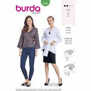 6373 Burda Pattern: Misses' Tie Blouse